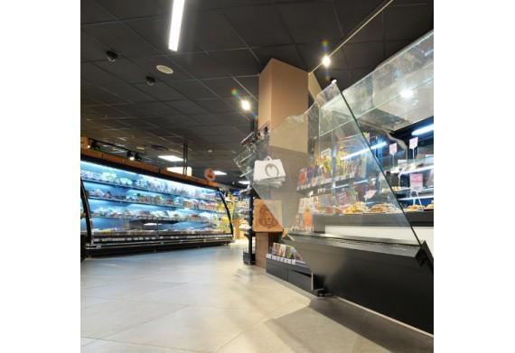 Размещение морозильных витрин в магазине