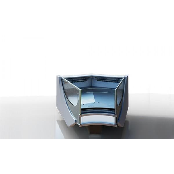 Витрина холодильная Миссури cold diamond - угловые элементы (радиусные)