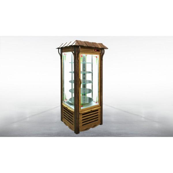 Шкаф холодильный кондитерский «Арканзас-R» Украинский стиль