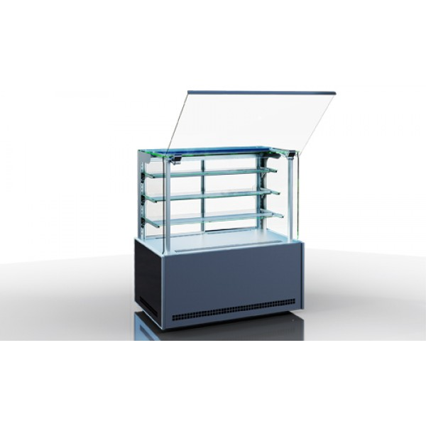 Кондитерская холодильная витрина Дакота cube ПС 85/150