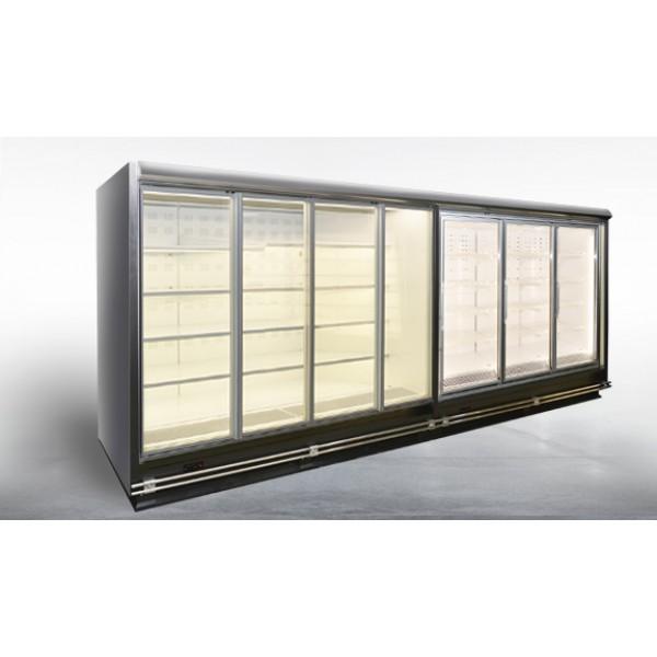 Холодильная витрина Индиана HT D tandem пристенная