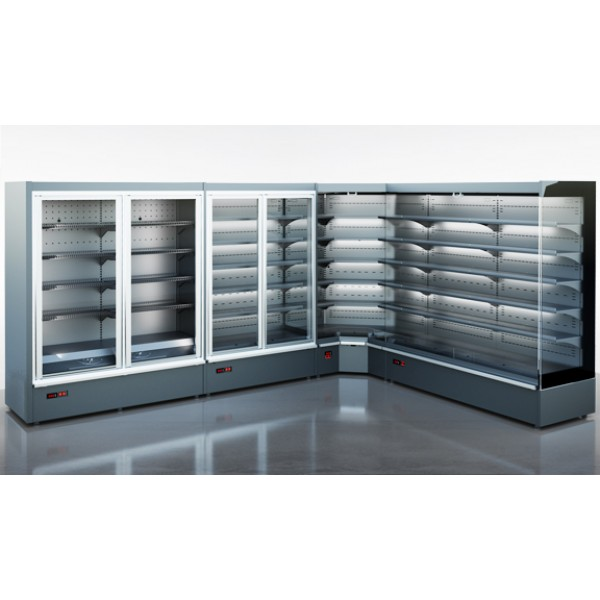 Холодильная витрина Индиана medium - угловые элементы