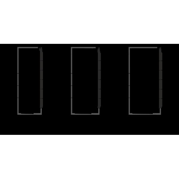 Холодильная витрина Индиана cube A D