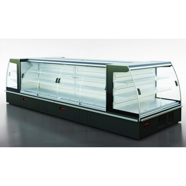 Холодильная витрина Индиана eco A D пристенная