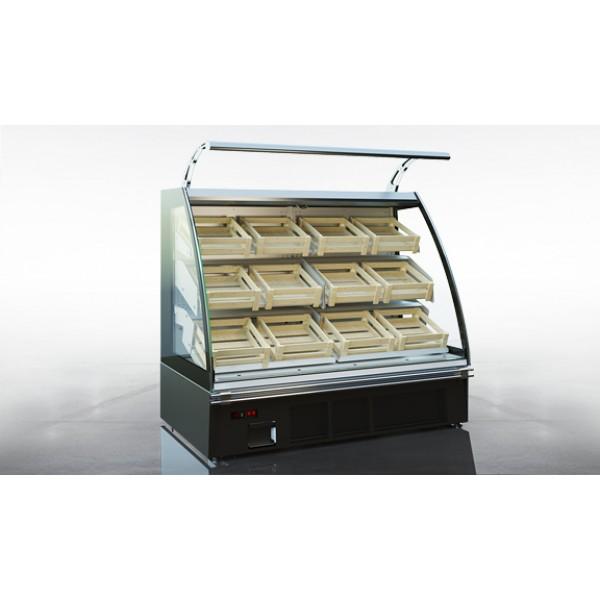 Холодильная витрина Луизиана eco A VF пристенная