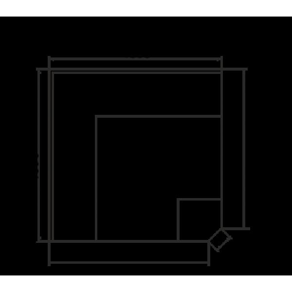 Холодильная витрина Миссури М - угловые элементы