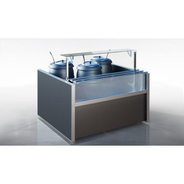 Холодильная витрина Миссури М N 2 self SL - нейтральный элемент