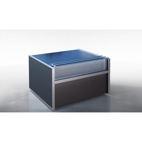 Холодильная витрина Миссури М N self SL - нейтральный элемент