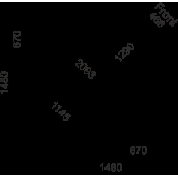 Холодильная витрина Соната - угловые элементы