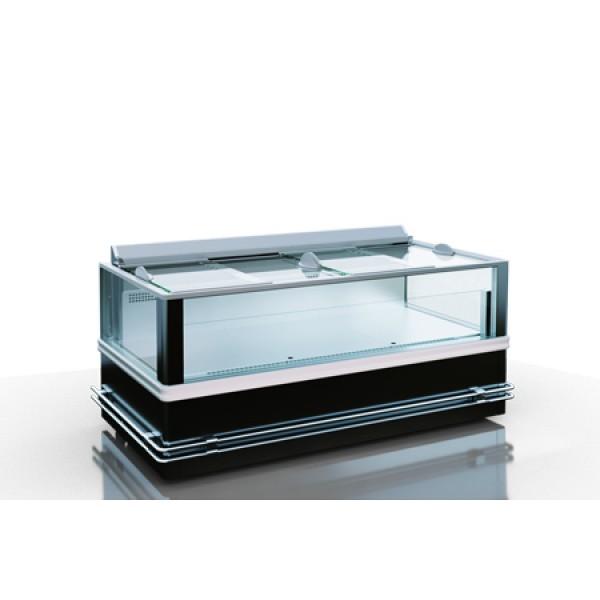 Холодильная витрина Юкон cube 88 двухобъемная