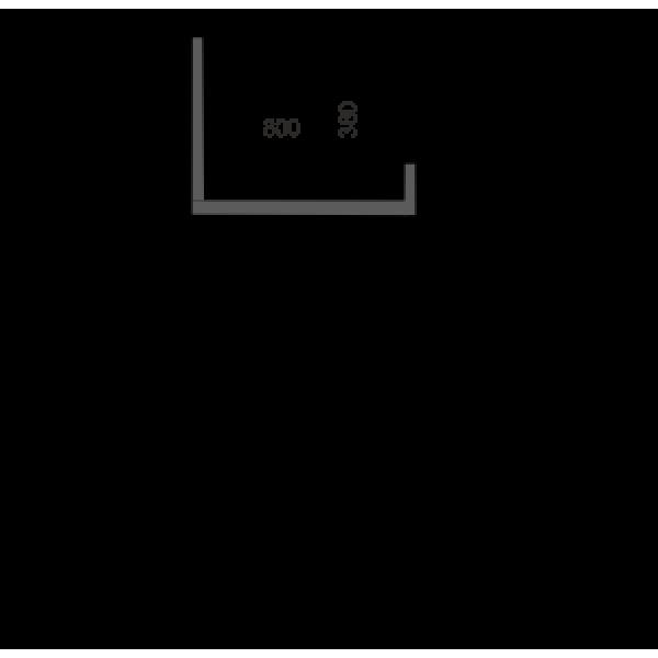 Низкотемпературная двух объемная витрина Юкон cube 95