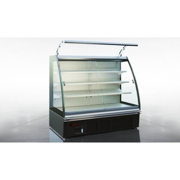 Холодильная витрина Луизиана eco A D пристенная